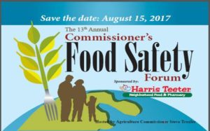 Cover photo for Commissioners Food Safety Forum, Registration Link!