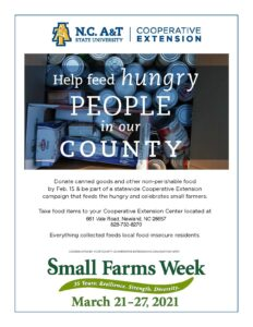 Cover photo for Food Drive for Avery County