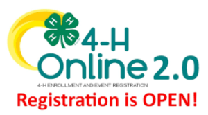 Cover photo for 4-H Re-Enrollment for 2021
